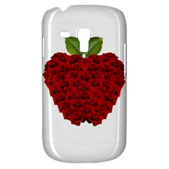 Romantic Red Rose Apple Galaxy S3 Mini