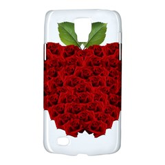 Romantic Red Rose Apple Galaxy S4 Active
