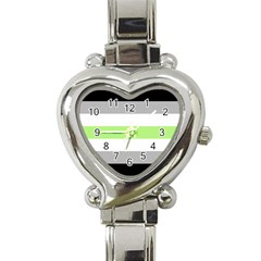 Age Heart Italian Charm Watch