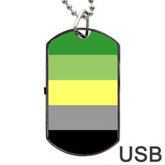 Aro Dog Tag Usb Flash (one Side)