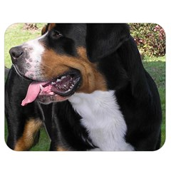 Greater Swiss Mountain Dog Double Sided Flano Blanket (medium)