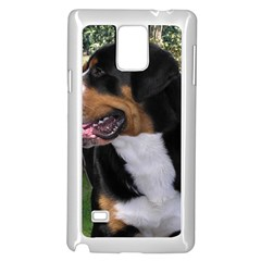 Greater Swiss Mountain Dog Samsung Galaxy Note 4 Case (white)