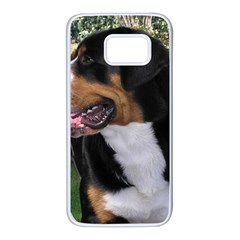 Greater Swiss Mountain Dog Samsung Galaxy S7 White Seamless Case