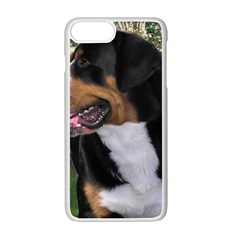 Greater Swiss Mountain Dog Apple Iphone 7 Plus White Seamless Case