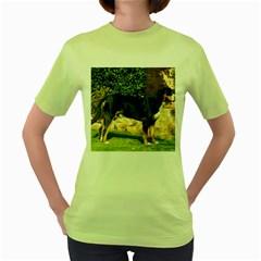 Gsmd Full Women s Green T Shirt