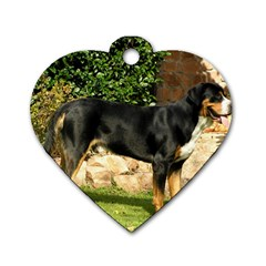 Gsmd Full Dog Tag Heart (one Side)