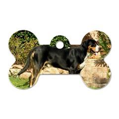 Gsmd Full Dog Tag Bone (one Side)