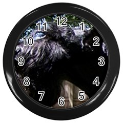 Giant Schnauzer Wall Clocks (black)