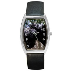 Giant Schnauzer Barrel Style Metal Watch