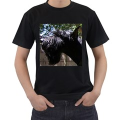 Giant Schnauzer Men s T Shirt (black) (two Sided)