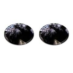 Giant Schnauzer Cufflinks (oval)