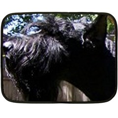 Giant Schnauzer Double Sided Fleece Blanket (mini)