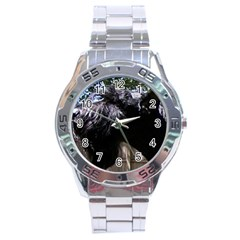 Giant Schnauzer Stainless Steel Analogue Watch