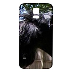 Giant Schnauzer Samsung Galaxy S5 Back Case (white)