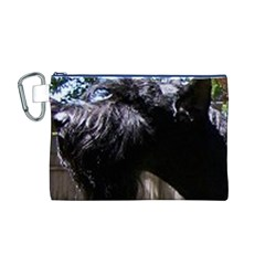 Giant Schnauzer Canvas Cosmetic Bag (m)
