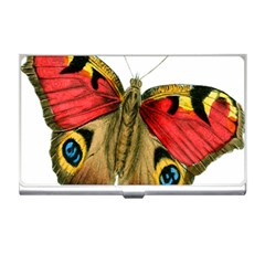 Butterfly Bright Vintage Drawing Business Card Holders