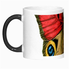 Butterfly Bright Vintage Drawing Morph Mugs