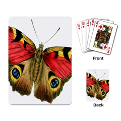 Butterfly Bright Vintage Drawing Playing Card