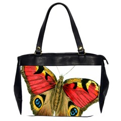 Butterfly Bright Vintage Drawing Office Handbags (2 Sides)