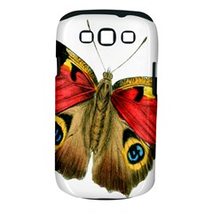 Butterfly Bright Vintage Drawing Samsung Galaxy S Iii Classic Hardshell Case (pc+silicone)
