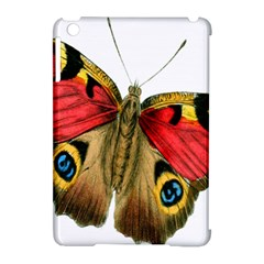 Butterfly Bright Vintage Drawing Apple Ipad Mini Hardshell Case (compatible With Smart Cover)