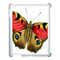 Butterfly Bright Vintage Drawing Apple Ipad 3/4 Case (white)
