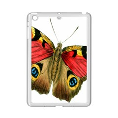 Butterfly Bright Vintage Drawing Ipad Mini 2 Enamel Coated Cases