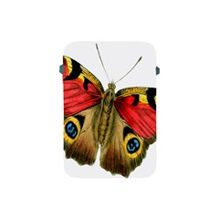 Butterfly Bright Vintage Drawing Apple Ipad Mini Protective Soft Cases