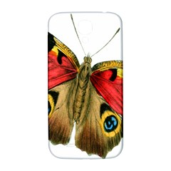 Butterfly Bright Vintage Drawing Samsung Galaxy S4 I9500/i9505  Hardshell Back Case