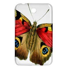 Butterfly Bright Vintage Drawing Samsung Galaxy Tab 3 (7 ) P3200 Hardshell Case