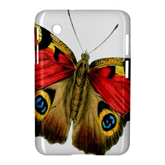 Butterfly Bright Vintage Drawing Samsung Galaxy Tab 2 (7 ) P3100 Hardshell Case