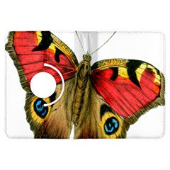 Butterfly Bright Vintage Drawing Kindle Fire Hdx Flip 360 Case