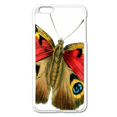 Butterfly Bright Vintage Drawing Apple Iphone 6 Plus/6s Plus Enamel White Case