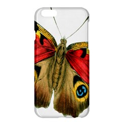 Butterfly Bright Vintage Drawing Apple Iphone 6 Plus/6s Plus Hardshell Case