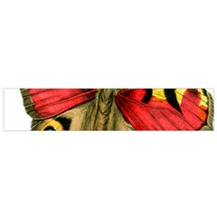Butterfly Bright Vintage Drawing Flano Scarf (small)