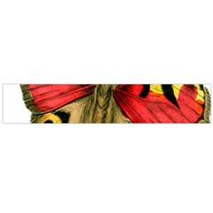 Butterfly Bright Vintage Drawing Flano Scarf (large)