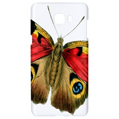 Butterfly Bright Vintage Drawing Samsung C9 Pro Hardshell Case