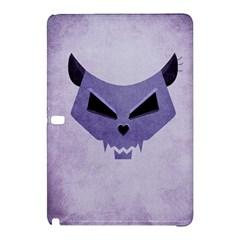Purple Evil Cat Skull Samsung Galaxy Tab Pro 12 2 Hardshell Case