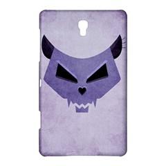 Purple Evil Cat Skull Samsung Galaxy Tab S (8 4 ) Hardshell Case