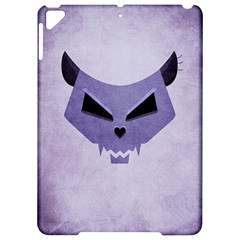Purple Evil Cat Skull Apple Ipad Pro 9 7   Hardshell Case