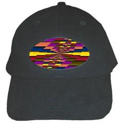 Autumn Check Black Cap