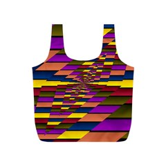 Autumn Check Full Print Recycle Bags (s)