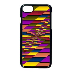 Autumn Check Apple Iphone 7 Seamless Case (black)