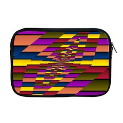 Autumn Check Apple Macbook Pro 17  Zipper Case