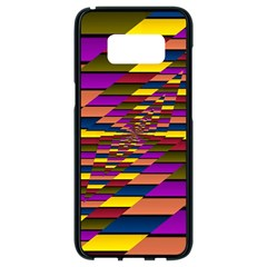Autumn Check Samsung Galaxy S8 Black Seamless Case