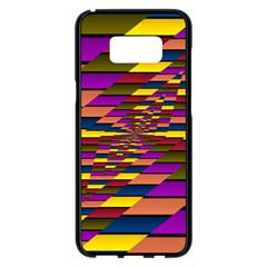 Autumn Check Samsung Galaxy S8 Plus Black Seamless Case