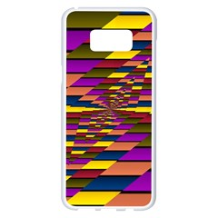 Autumn Check Samsung Galaxy S8 Plus White Seamless Case
