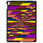 Autumn Check Apple iPad Pro 9.7   Black Seamless Case Front