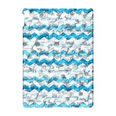 Baby Blue Chevron Grunge Apple Ipad Pro 10 5   Hardshell Case