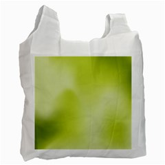 Green Soft Springtime Gradient Recycle Bag (one Side)